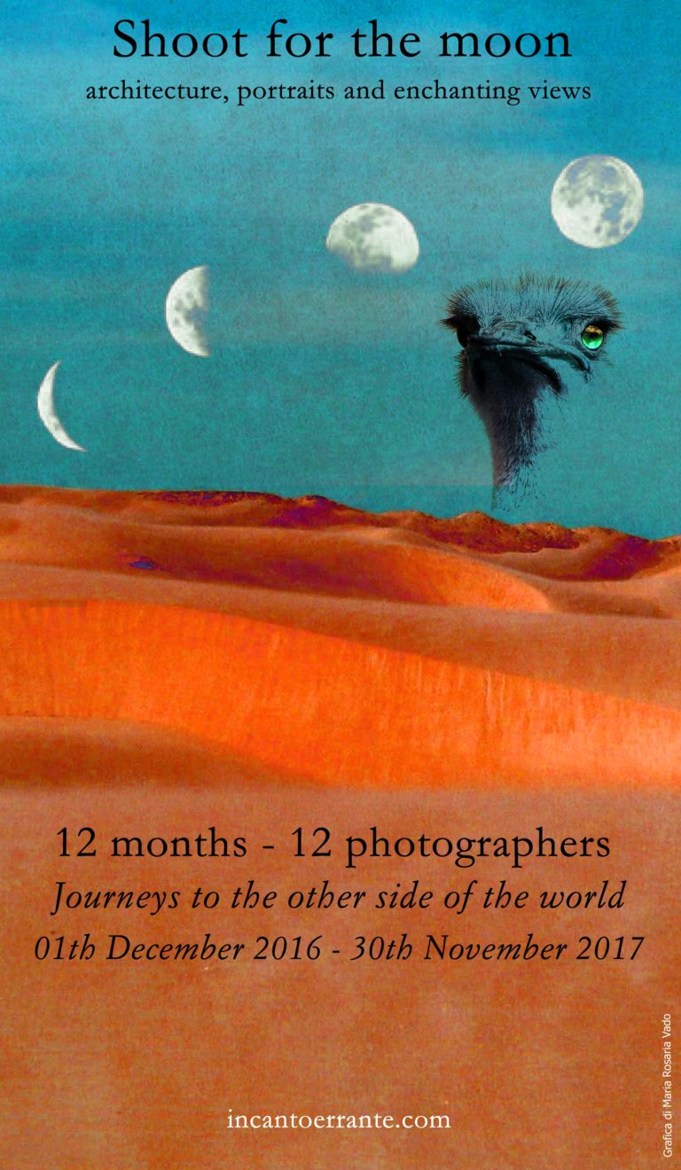 SHOOT for the MOON    12 months – 12 photographers