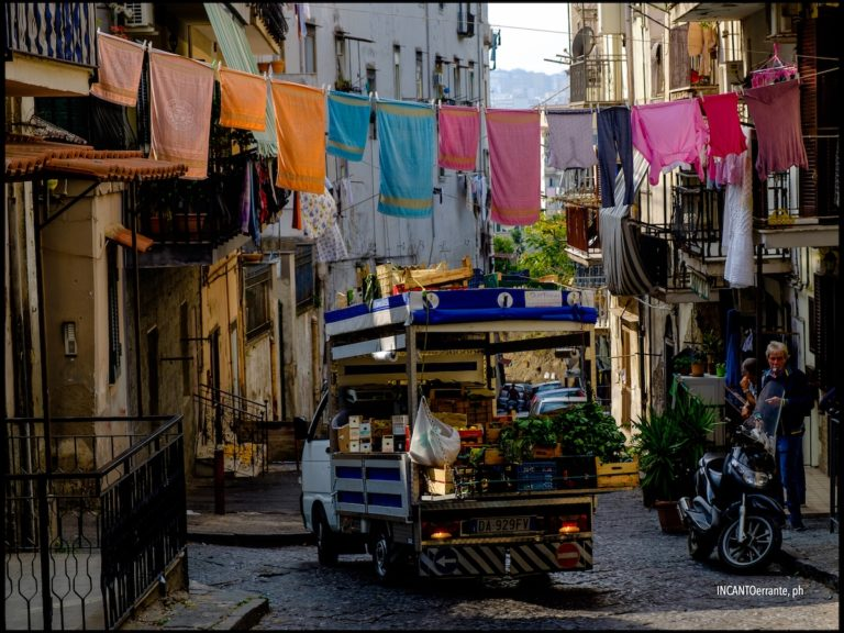 Itinerario a Napoli. Tempo di percorrenza: non pervenuto