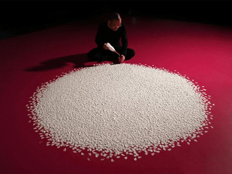 I petali di sale di Motoi Yamamoto